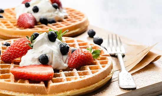 Strawbery Waffles